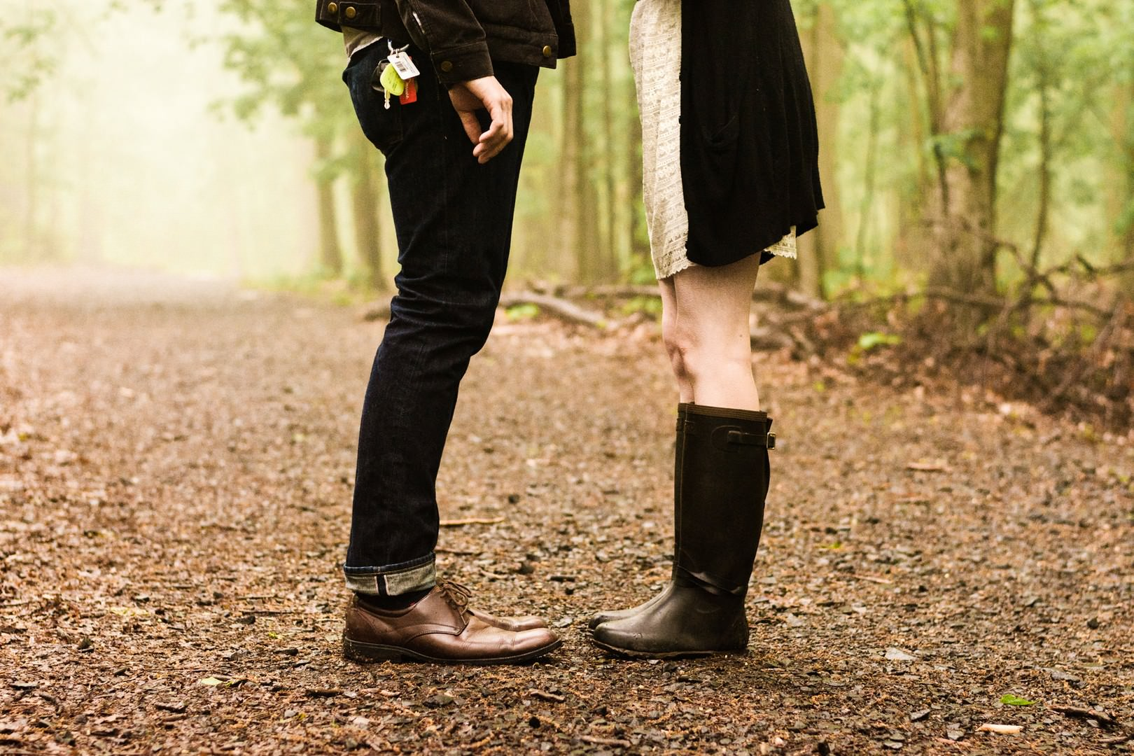 -hipster-couple-feet-boots-woods-forest-engagement-photos-nj-wedding ...