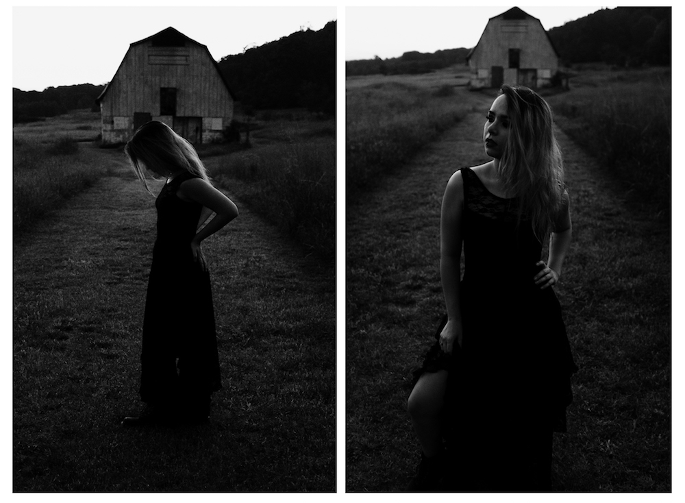 Dark Portraits Photography gorgeous-model-rustic-...