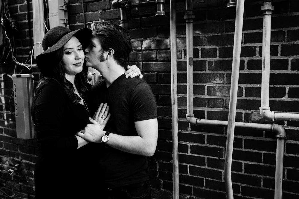 couple-alley-pipes-kiss-industrial-emily-steve-cole-marietta-square-atlanta-georgia-wedding-photographer