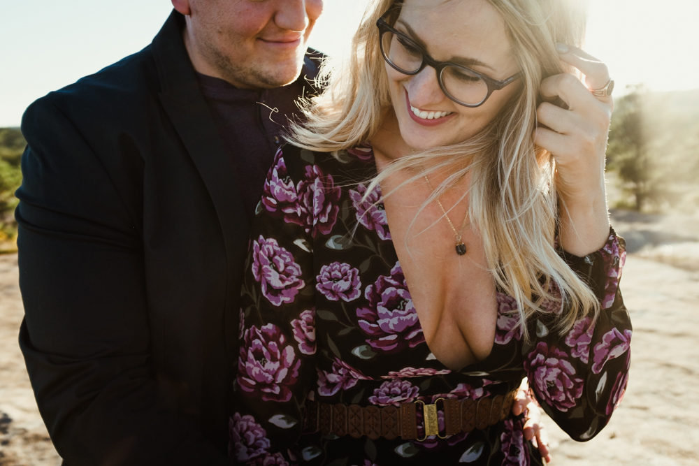 cute-hipster-couple-pretty-girl-laugh-forever-21-river-west-arabia-mountain-atlanta-georgia-wedding-photographer