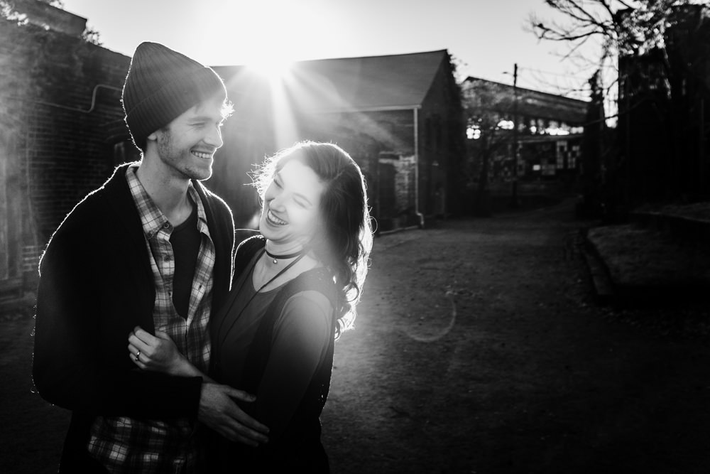 super-cute-sun-flare-abandoned-fashion-model-couple-geordan-newsome-dillan-moore-goat-farm-atlanta-georgia-wedding-photographer