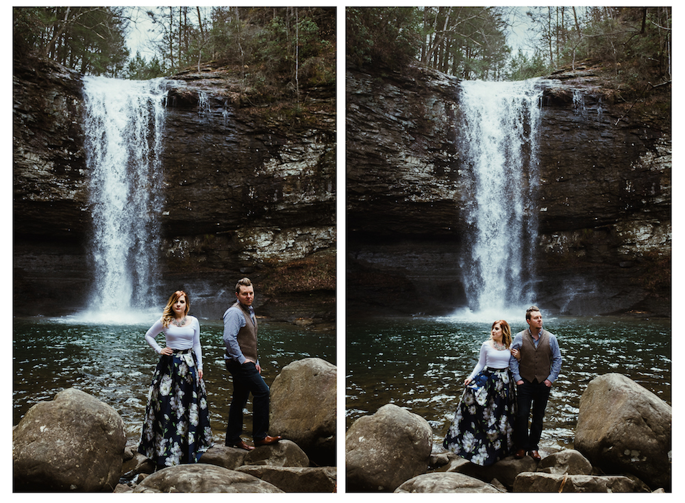 awesome-waterfall-romantic-charlotte-russe-banana-republic-american-eagle-outdoor-couples-photo-shoot-cloudland-canyon-cody-bre-stephens-atlanta-georgia-photographer