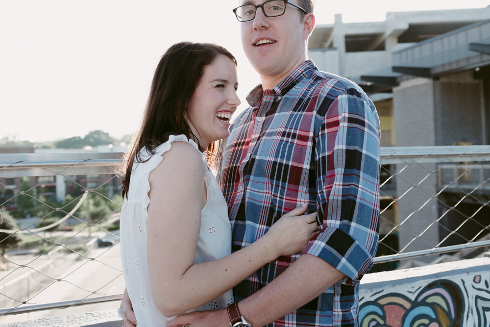 happy-laugh-couple-cute-maggie-wolicki-lang-burghardt-engagement-photos-atlanta-wedding-beltline